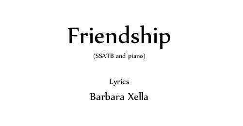 Copertina - Friendship